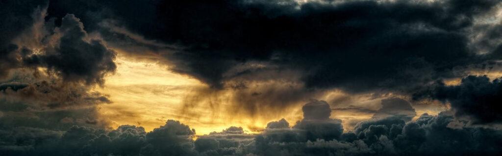 depressie wolken